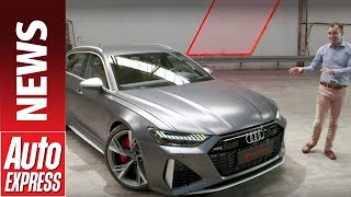 New 2020 Audi RS 6 Avant - 592bhp super-estate breaks cover by Auto Express