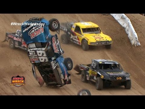 Parts FLY when Off Road Truck lands sideways in Las Vegas - WW #9