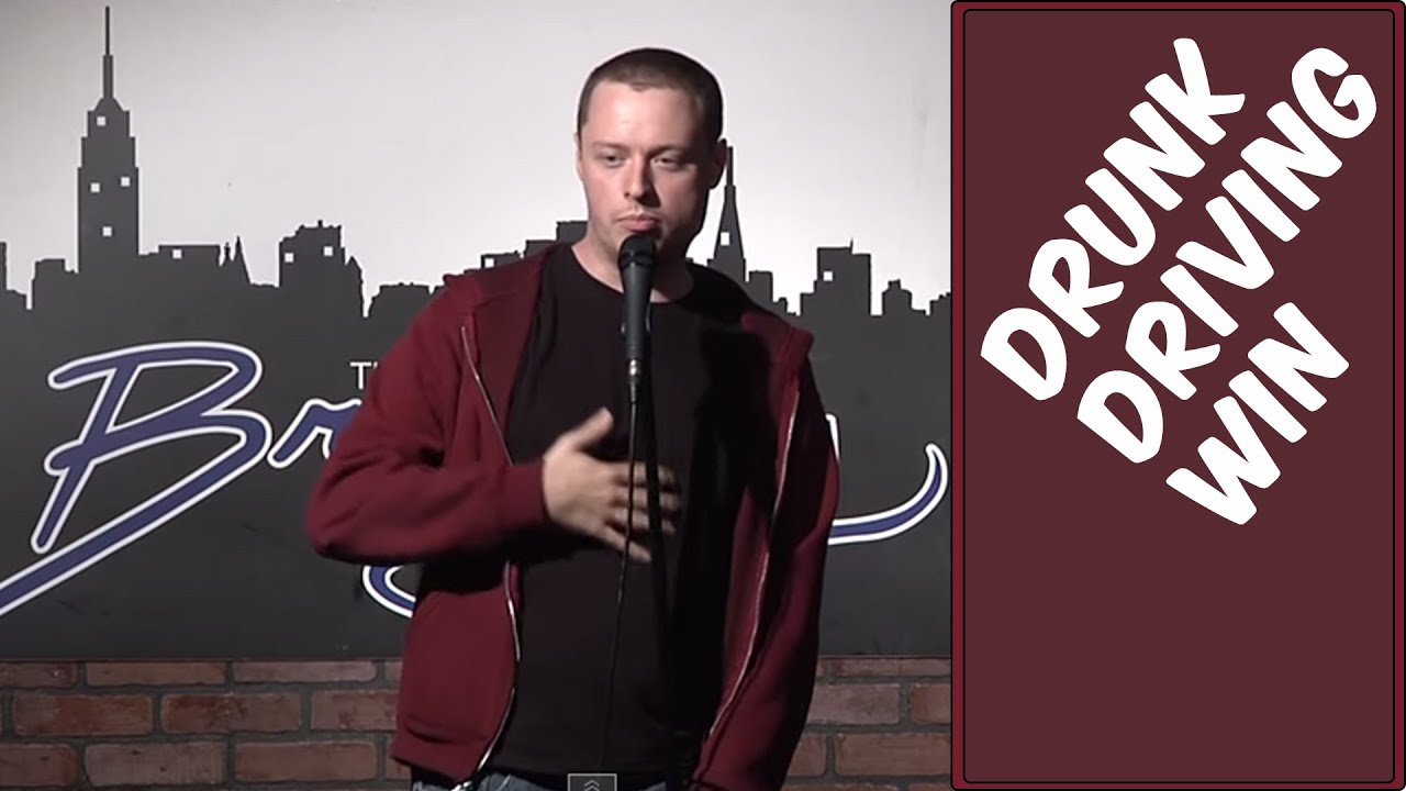 Comedy Time - Stand Up Comedy by Mike Holland – Drunk Driving Win