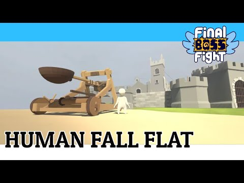 Video thumbnail for Road to Valhalla Continued – Human Fall Flat – Final Boss Fight Live
