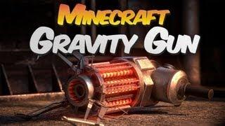 Gravity Guns in Minecraft! - Gravity Gun Mod Showcase