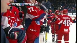 Kadeykin beats Masalskis with one hand deke