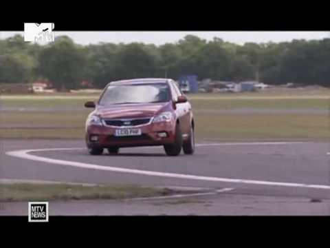 Камерон Диаз в Top Gear