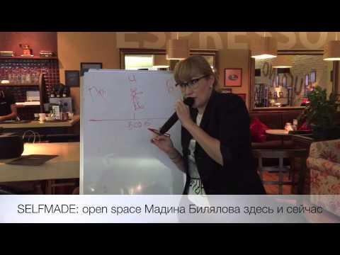 SELFMADE: open space Мадина Билялова Здесь и Сейчас