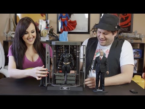 toys - Interested in the Batman Armory? ▻▻ http://bit.ly/buyalfredarmory Here's our unboxing of the Batman Armory with Alfred Pennyworth from Hot Toys. Thanks to Sideshow Collectibles for the...