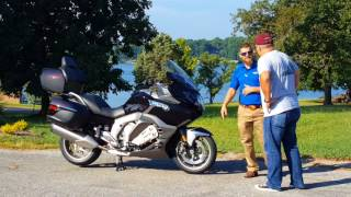 6. 2018 BMW K1600GTL Mini Delivery Documentary from Frontline Eurosports with Nate
