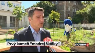 Videá / Základný kameň na MŠ Karpatská