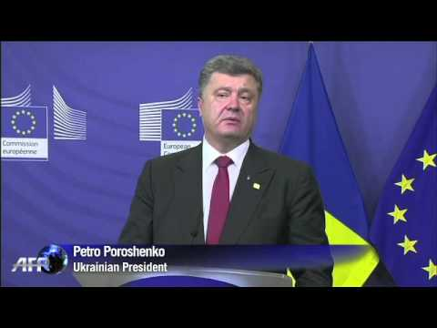 EU warns Ukraine crisis has reach critical point.