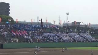 明豊 大分大会 夏の決勝での応援風景