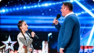 Opera duo Martin & Faye keep it in the family | Auditions Week 4 | Britain's Got Talent 2017