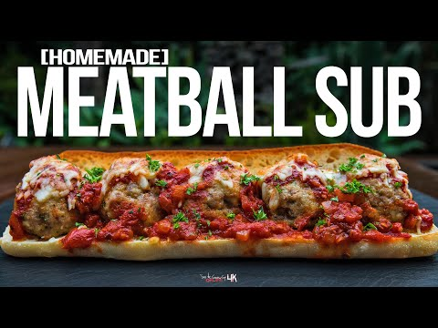 The Best Meatball Sub Recipe | SAM THE COOKING GUY 4K