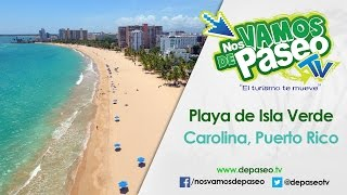 Carolina Puerto Rico  city photos gallery : Playa de Isla Verde, Carolina, Puerto Rico