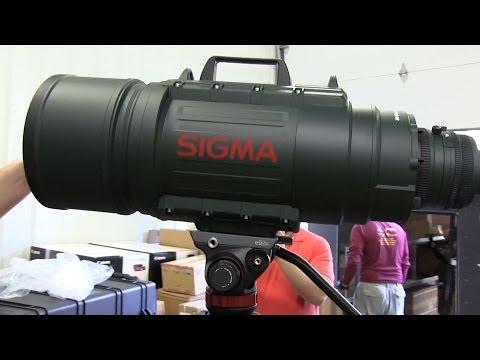 Sigma APO 200-500mm F2.8/400-1000mm EX DG Unboxing