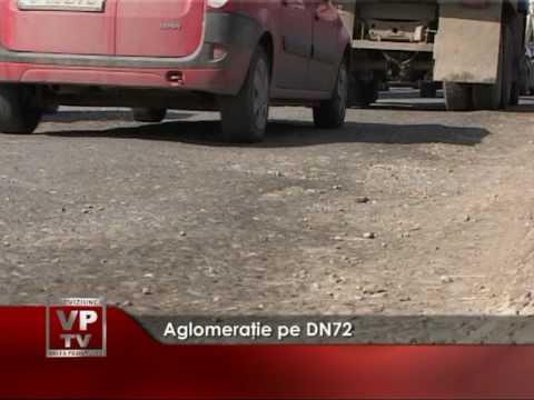 Aglomeratie pe DN72