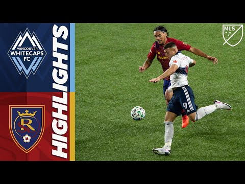 Vancouver Whitecaps FC vs. Real Salt Lake | October 10, 2020 | MLS Highlights