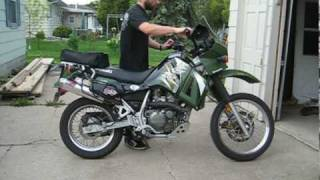 6. Kawasaki KLR650 Exhaust Upgrade