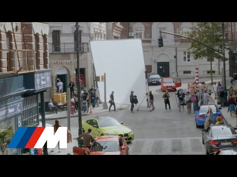 """BMW M Town """"The Drop"""" - behind the scenes."""