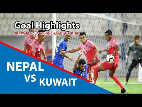 Nepal 0 vs Kuwait 7 | Goals Highlights | Fifa World Cup Qualifiers | 2019/09/06