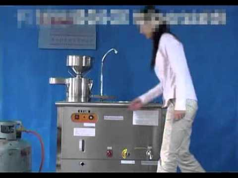 The Process of Soya Milk Making Machine Producing
