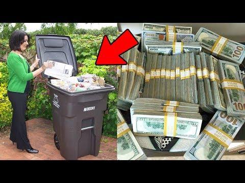 le 5 cose più costose trovate nella spazzatura!
