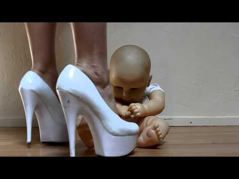 high heels crush - Lady Luxe is easily angered by her inconsiderate baby doll. Will he be punished more severely in the future? Stay tuned. Visit luxecollege.blogspot.com.