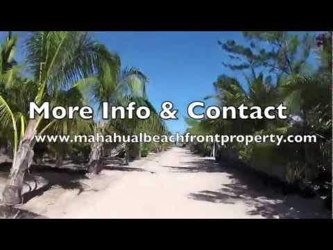 mexico real estate - http://www.mahahualbeachfrontproperty.com 2 beautiful beachfront lots for sale in Puerto Angel few km/miles south of Mahahual in the Costa Maya. The most bea...
