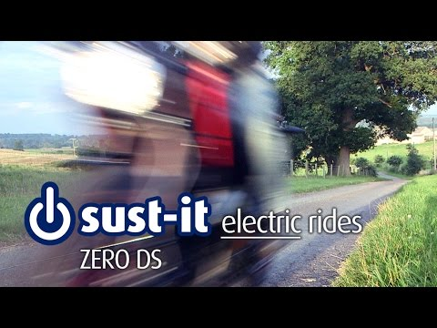 Sust-it&#039;s Zero S DS electric motorcycle