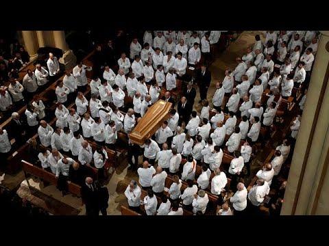 Λυών: Το ύστατο χαίρε στον Πολ Μποκιούζ