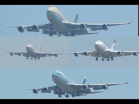 Video Back to Back Boeing 747 Landing Action at Mumbai Chhatrapati Shivaji International Airport!!! download in MP3, 3GP, MP4, WEBM, AVI, FLV January 2017