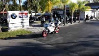 9. 2012 Ducati Evo 848 White