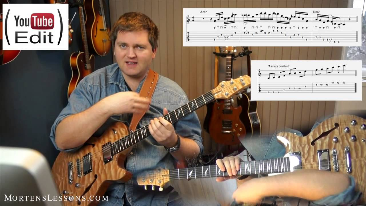 "Bob Berg on ""The Wish"" (Advanced jazz guitar lesson)"