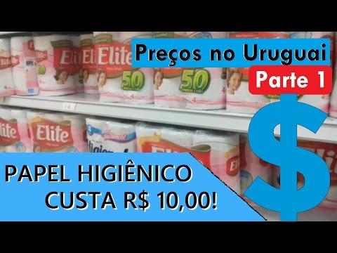 VIAGEM URUGUAI #8 - Preços no Uruguai - Parte 1