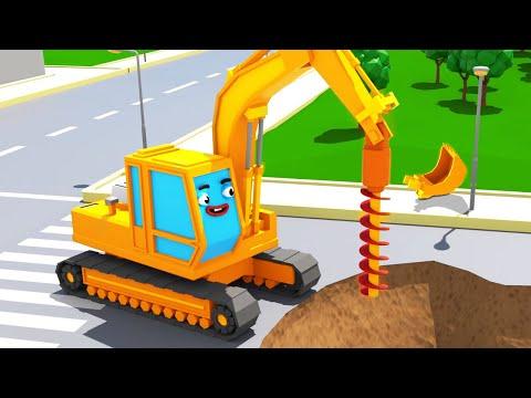 Bagger Kinderfilm - Der GELBE BAGGER Spielt 2 - Super Sammlung - Cartoon für Kinder - Thời lượng: 1:02:37.