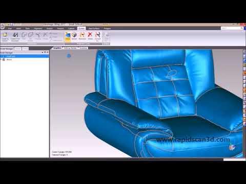 Utilizing Geomagic Wrap on 3D Scan Data
