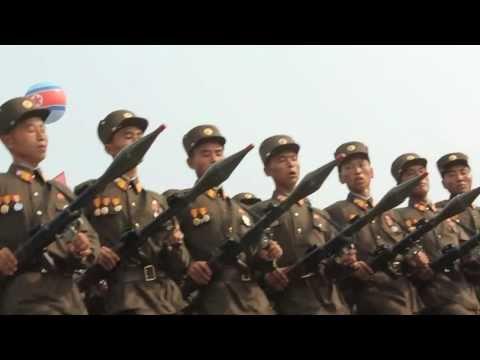 Vojenská přehlídka armády Severní Koreje