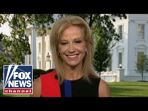 Kellyanne Conway reacts to Trump's surprise NATO presser