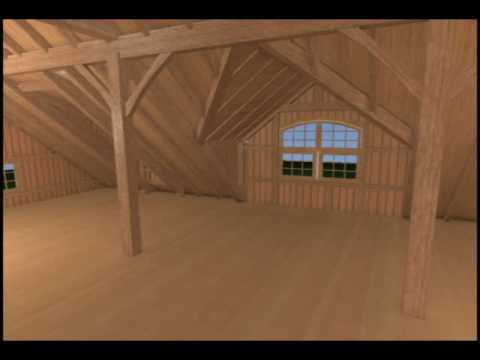 Greenwich Carriage Barn – Yankee Barn Homes – 3D Virtual Walkthrough