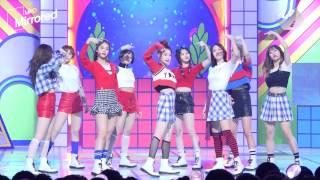 [Mirrored MPD직캠] 트와이스 KNOCK KNOCK 거울모드 직캠(안무영상) Twice Choreography Fancam @엠카운트다운_170223