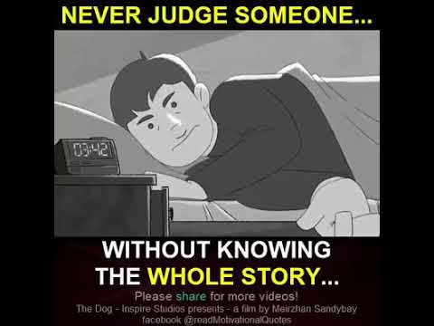 Emotional lesson don't judge the book by it's cover