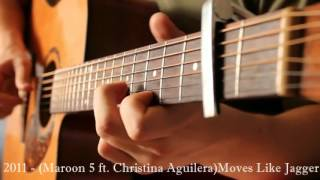 Popular Song`s 1960 2015 Guitar Cover Acoustic Fingerstyle Video