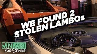 Video VINwiki found two stolen Lamborghinis! MP3, 3GP, MP4, WEBM, AVI, FLV Juni 2019