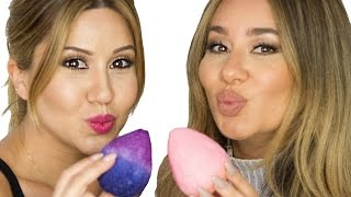 How To Make a Makeup Beauty Blender - EASY DIY!