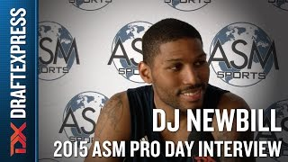 DJ Newbill 2015 ASM Pro Day Interview - DraftExpress