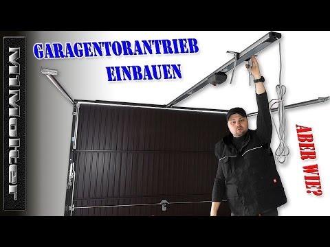 Montage Torantrieb / Garagentoröffner / Sommer Garagentorantrieb Duo Vision Ausfürlich von M1Molter