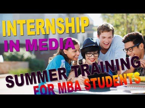 Best Internship Media Houses | Summer Training for MBA Student in Delhi