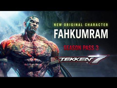 Tekken 7 - Fahkumram Character Announcement Trailer - PS4/XB1/PC