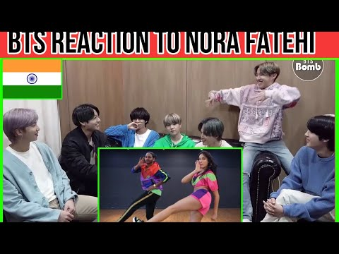 BTS REACTION TO BOLLYWOOD SONGS || Pepeta - Nora Fatehi || BTS REACTION TO NORA FATEHI || BTS INDIA