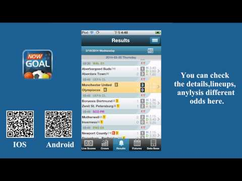 Video of Livescore odds