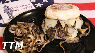 In this video, I make a burger topped with oyster mushrooms and marinated artichoke hearts. The ingredients I used are 1/3 lb of oyster mushrooms seasoned with with olive oil, kosher salt, and Johnny's Seasoned Pepper. My burger patty was 85% lean 15% fat, grass fed, Angus ground beef. I used a toasted sourdough English muffin for the bun and added some mayonnaise and mustard. I topped the burger with Havarti Dill cheese, then added the mushrooms, and marinated artichoke hearts. For more easy cooking and recipes, be sure to check out my easy cooking channel.  https://www.youtube.com/user/TosTinMannCheck out Smoky Ribs here. https://www.youtube.com/channel/UC0UPLkKVX3qyiQ8MqQgYw8QLike TosTinMan EasyCooking on Facebook.   https://www.facebook.com/tostinman/?fref=tsInstagram-https://www.instagram.com/tostinmaneasycooking/Twitter-https://twitter.com/TosTinMan
