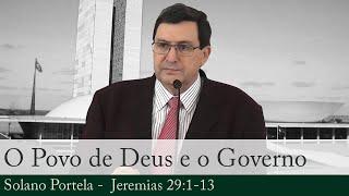 O Povo de Deus e o Governo - Solano Portela